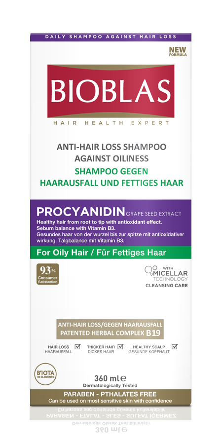 oily hair shampoo